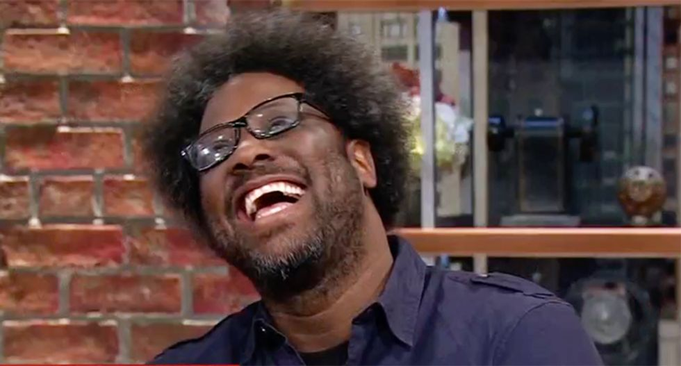 CNN's W Kamau Bell demolishes Trump's sudden discovery that Lincoln freed the slaves