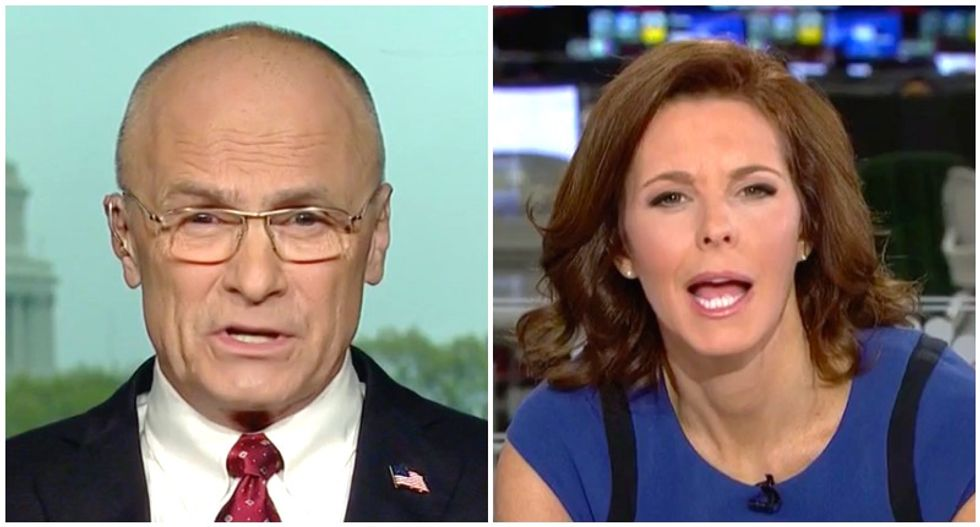 MSNBC's Stephanie Ruhle gobsmacked after Trump backer blames Hillary Clinton for WH vetting debacles