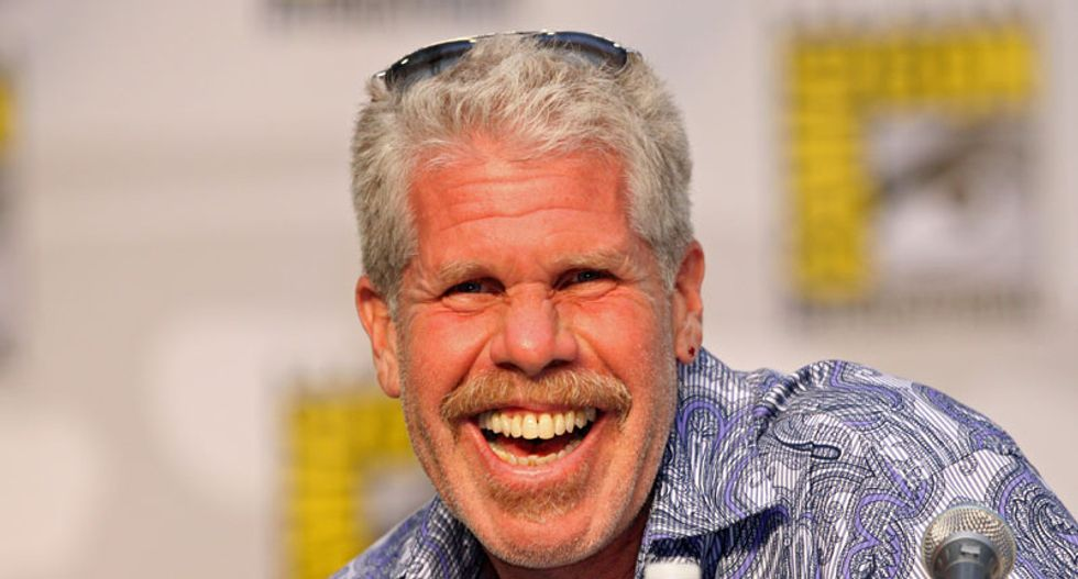 'He's a cardboard cutout piece of sh*tf*ck': Actor Ron Perlman explains why he would never play the role of Trump