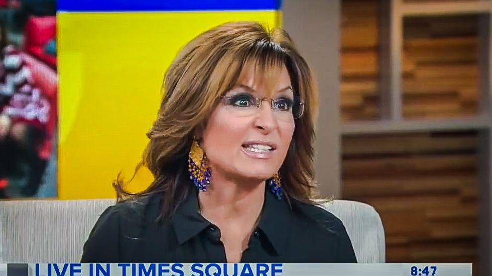 WATCH: Sarah Palin heaps praise on Julian Assange in surreal video -- and apologizes for 'being a stinker to him'