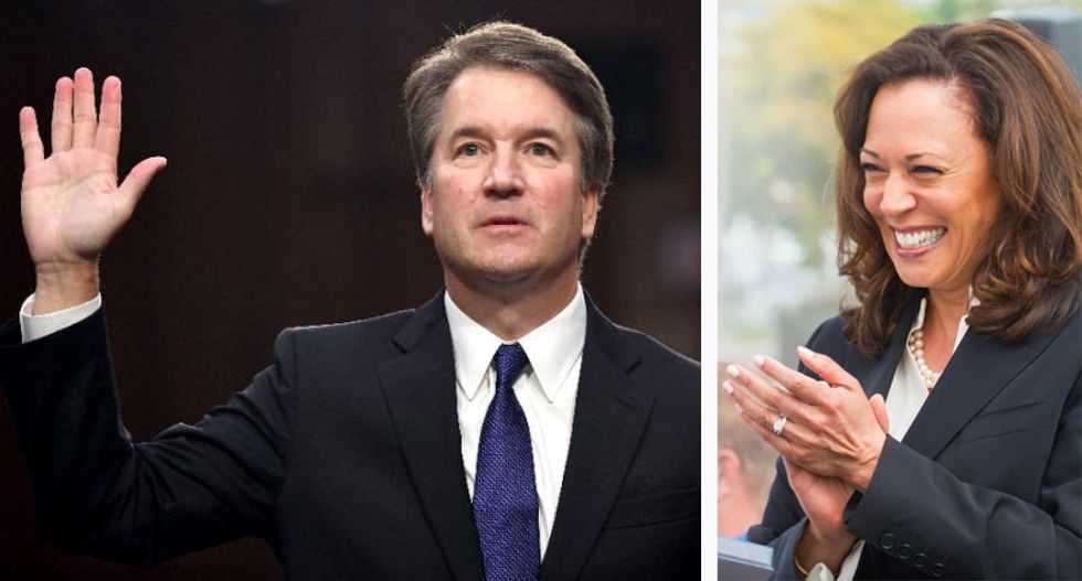 Brett Kavanaugh busted lying about even whether he watched Blasey Ford's testimony
