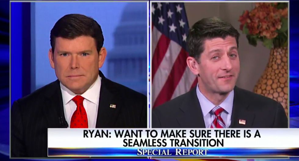 Fox host stunned as Paul Ryan calls CBO report 'encouraging': 'What would you be discouraged by?'