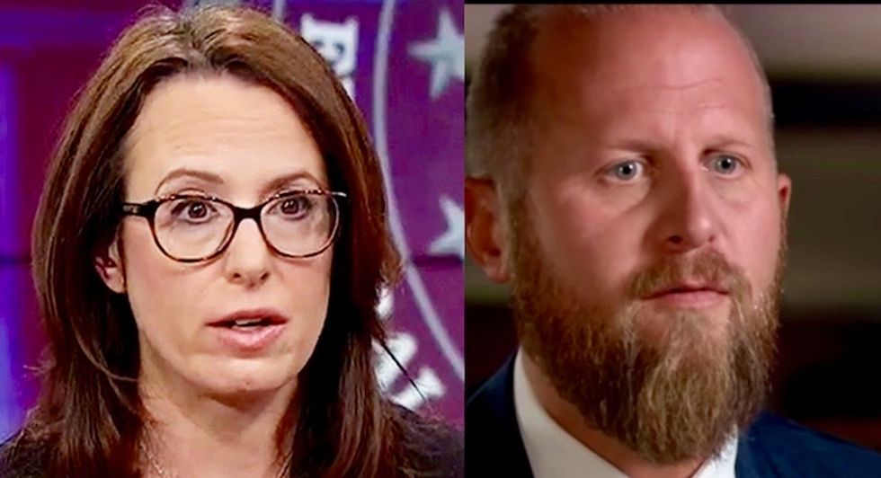 Trump's 2020 campaign manager and favorite NYT reporter just threw down on Twitter -- here's the exchange