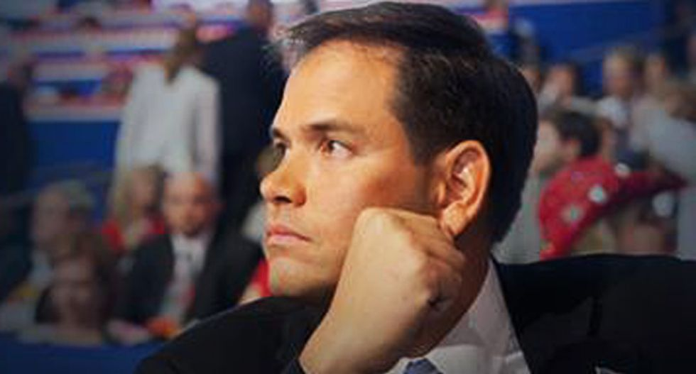 'Grow a spine': Florida columnist hammers Marco Rubio for being a Trump apologist