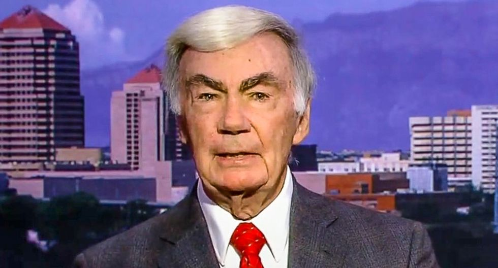 Sam Donaldson unloads on Trump's 'small base': They don't run this country -- 'and they never will'