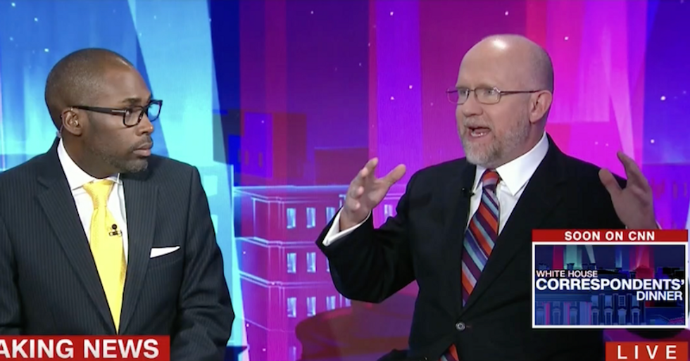 'Even Steve Bannon thought it was a bad idea!': Watch Republican Rick Wilson go off on Trump Jr's meeting with Russian spy
