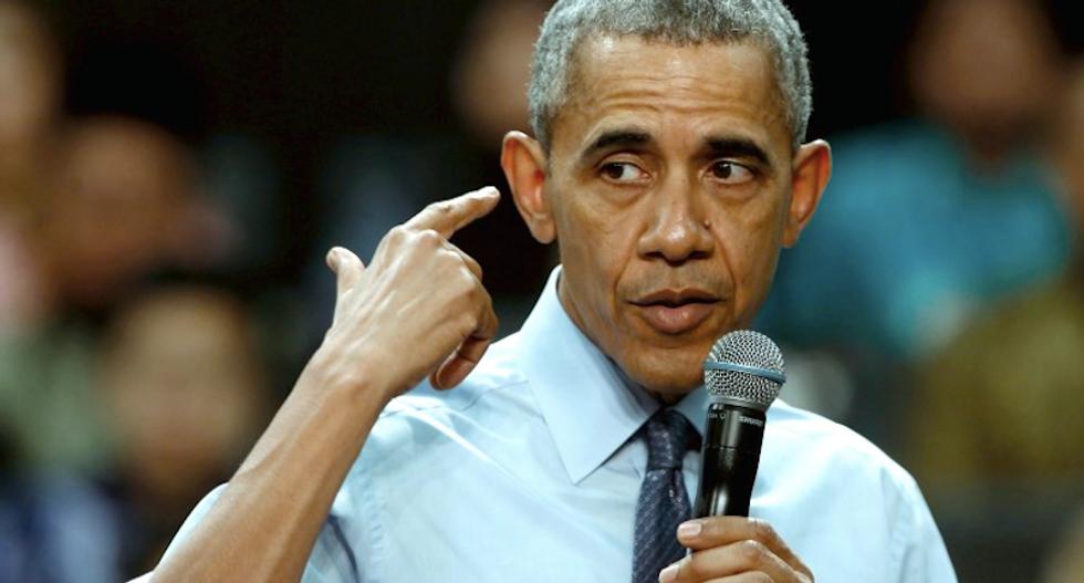 Obama says Bernie Sanders has 'luxury' of being long shot in Democratic race