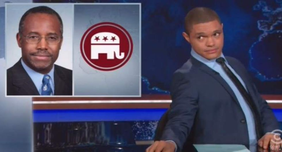 Trevor Noah exposes how badly Ben Carson misunderstands foreign policy -- and it's awesome