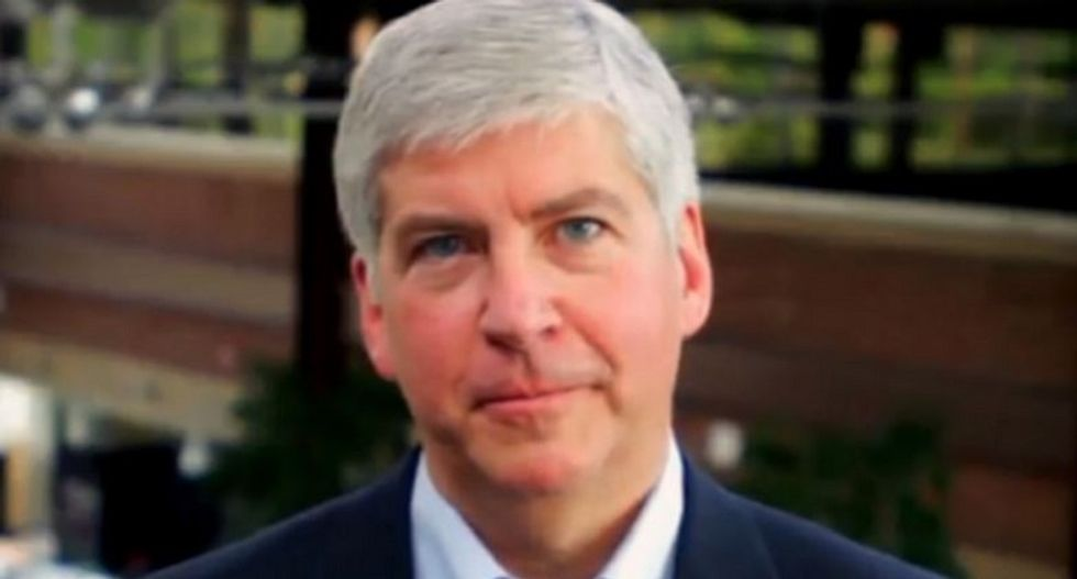 Michigan Gov. Snyder admits Flint is his 'Katrina' — and Twitter pounds the hell out of him
