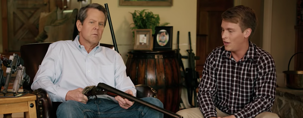 Republican candidate's shotgun-toting ad backfires in Atlanta: 'We are gun owners and we are outraged'