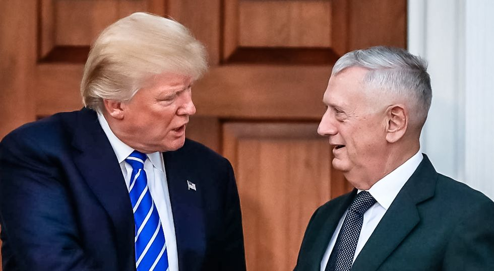 James Mattis says Trump has 'acted like -- and had the understanding of -- a fifth grader': Bob Woodward