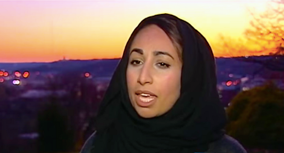 Muslim student nearly run over by man who called her a terrorist: 'I'm terrified to cross the street now'
