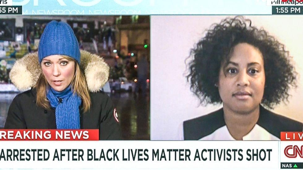 Minnesota NAACP leader shocks CNN: Police are 'behind' the Black Lives Matter shooting