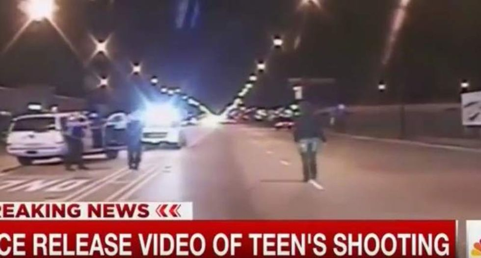 Authorities release footage of Chicago cop fatally shooting Laquan McDonald as he walked away