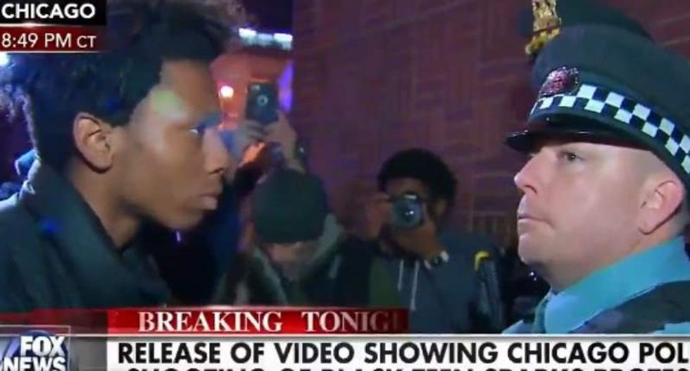 Megyn Kelly: It's not 'appropriate' for black protester to stare at Chicago cop