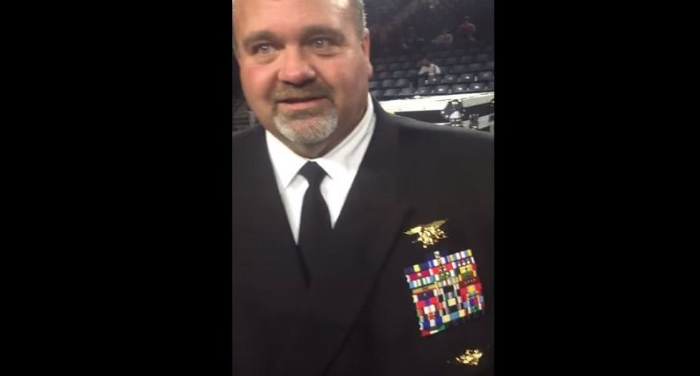 Pastor caught lying about 'black robber' busted again for pretending to be a Navy SEAL
