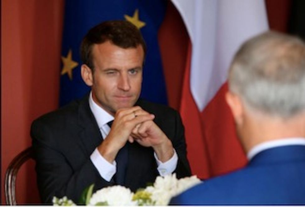 French President in 'delicious' faux pas on tour Down Under