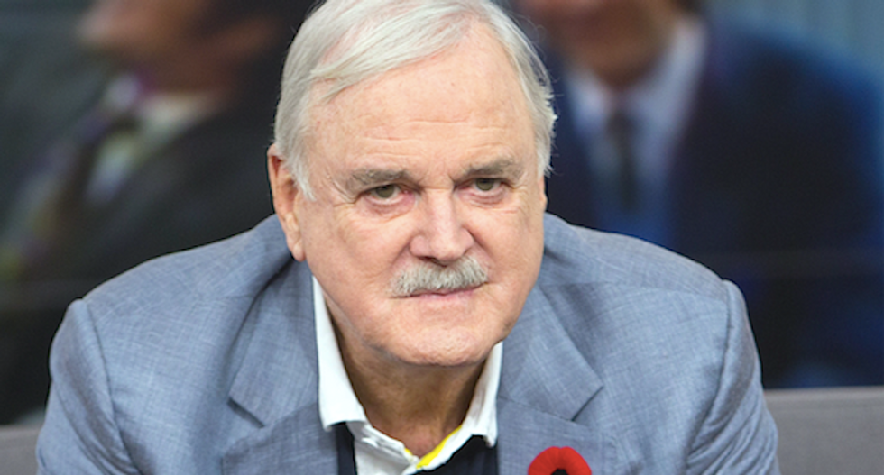 Monty Python's John Cleese lights up Twitter with devastating joke about Trump voters