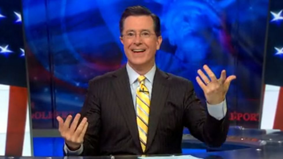 Stephen Colbert: If female hurricanes are more deadly, it's time for storms to man up