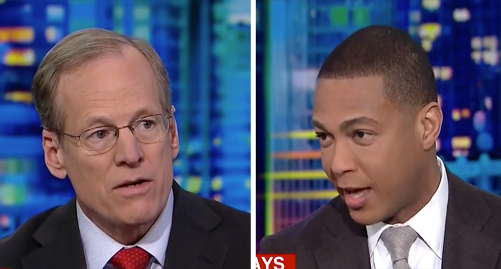 'I can't let you come here if you won't tell the truth': Don Lemon may have just banned Jack Kingston