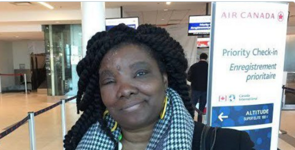 Airline treated black woman 'like an animal' and booted her off flight after falsely claiming she was 'contagious'