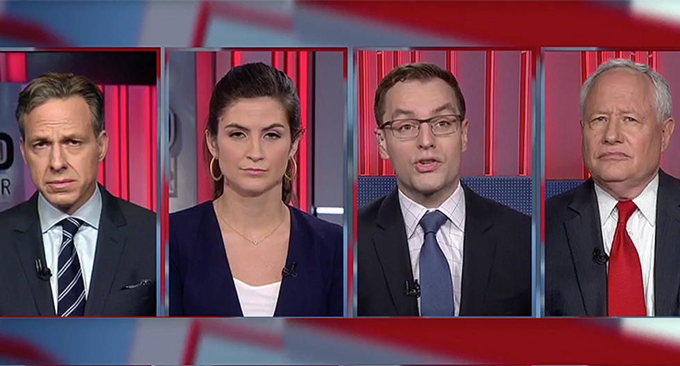 CNN strategist has one key reason Sarah Huckabee Sanders doesn't want to answer anymore Trump legal questions
