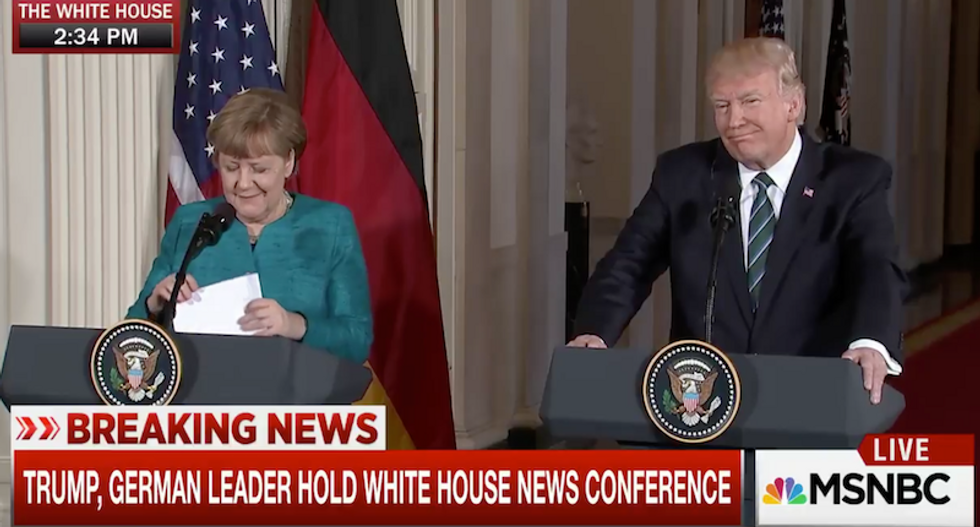 WATCH: Trump blames Fox News for rejected claims that Obama ordered British spies to wiretap him