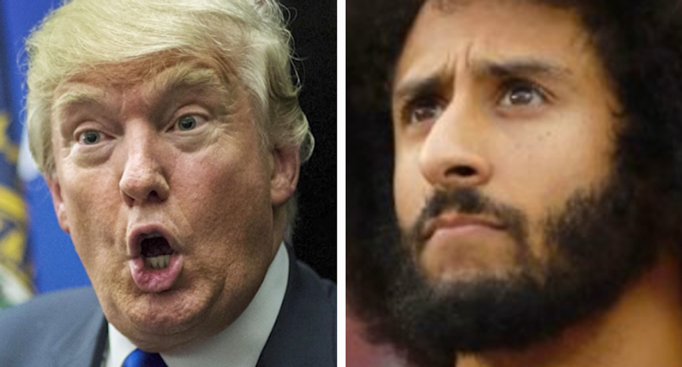 'We will never back down': NFL Players Association rips Trump over Kaepernick 'son of a b*tch' slur