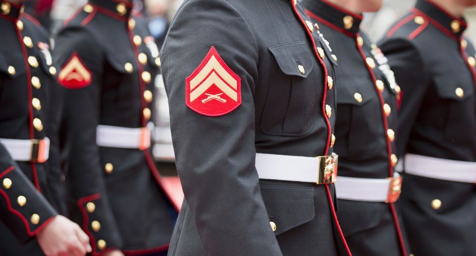 In first, woman becomes US Marine Corps infantry officer