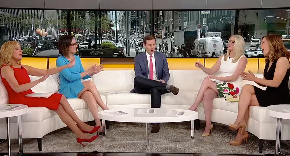 'This is not going well': Fox panel admits Stormy Daniels scandal is devolving into chaos for the White House