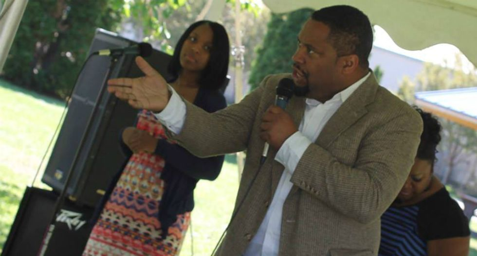 Black reverend rallies churchgoers after racist death threats: 'We won't allow hate to strike fear in our hearts'