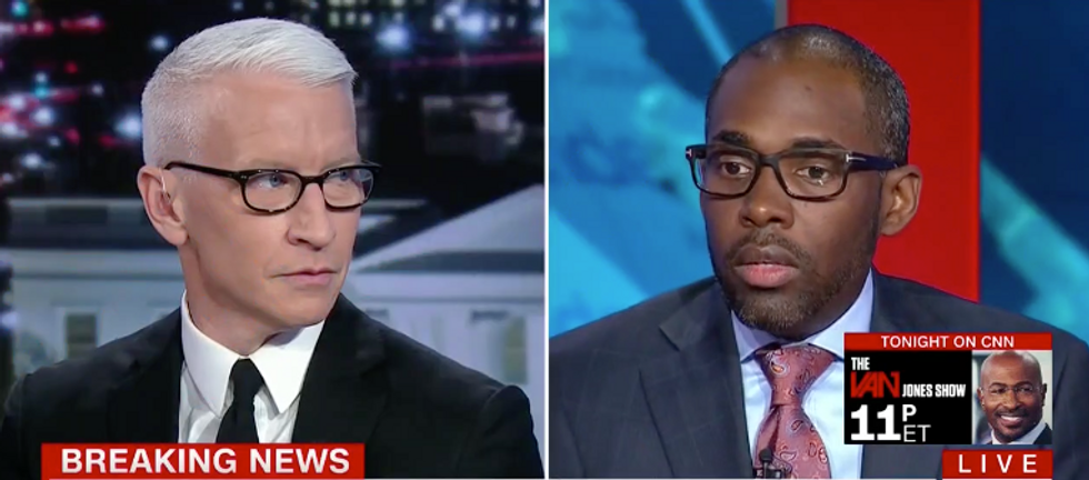 CNN's Anderson Cooper slams yet another Trump supporter who claims he never heard the president lie