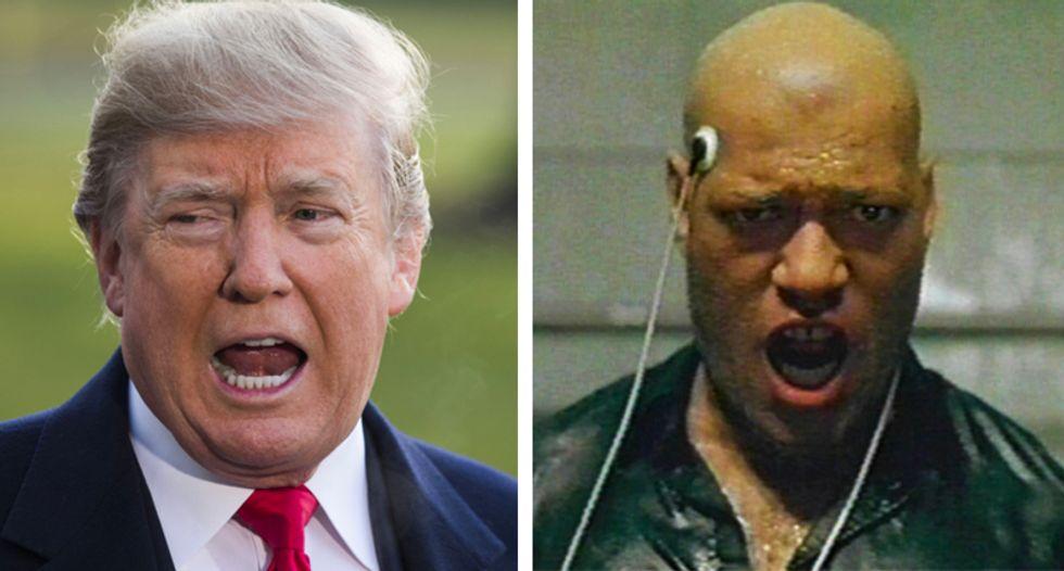 Did the dystopian 'Matrix' movies predict the rise of Trump?