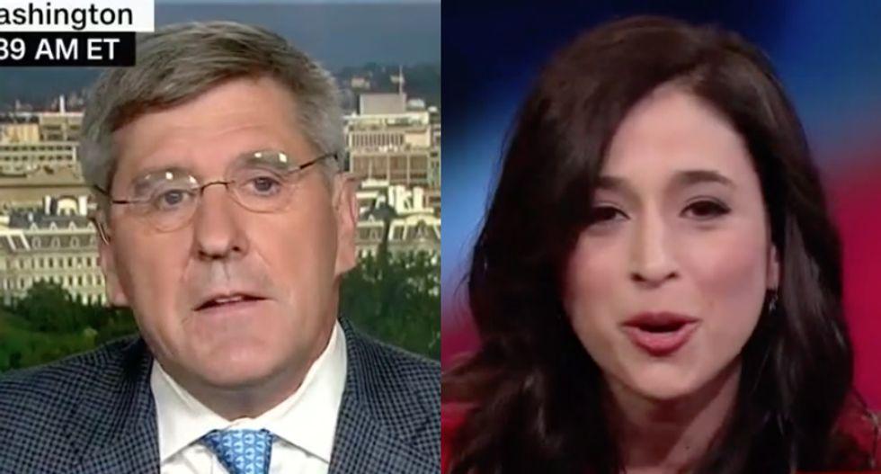 WATCH: Pro-Trump economist starts shouting on CNN after clashing with columnist over unemployment