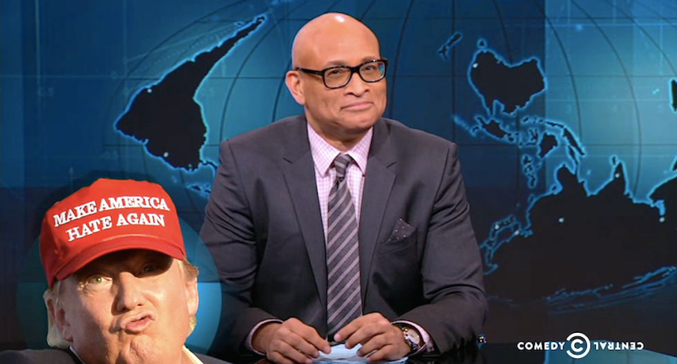 Larry Wilmore on 'asshole' Donald Trump: 'If Cheney's against you — you're really out there'