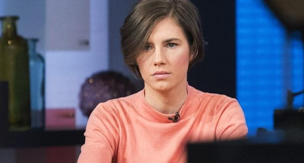 Amanda Knox -- acquitted and then convicted in Italy of roommate's murder -- engaged to longtime friend