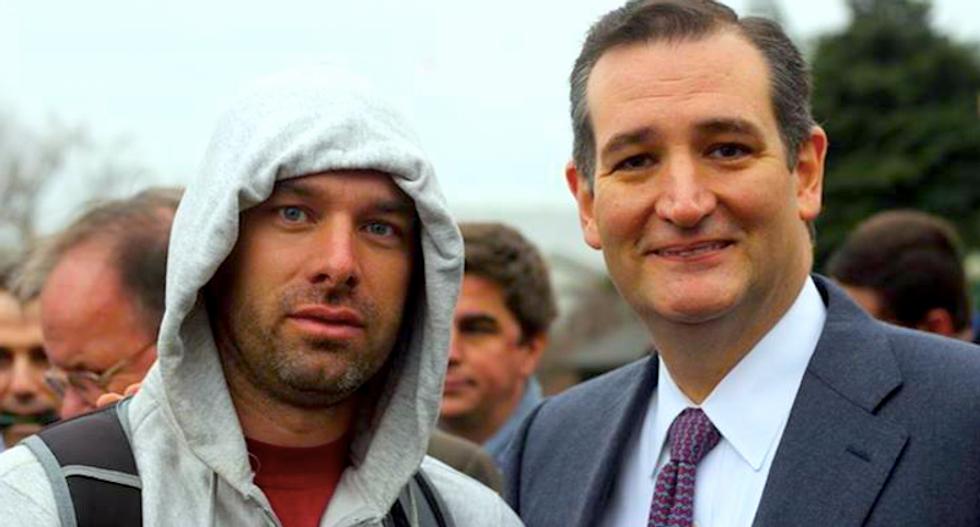 Blaine Cooper and Ted Cruz (Facebook)