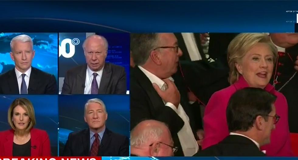 'I have never heard boos like that': 'CNN rips 'over the line' Trump for #AlSmithDinner speech
