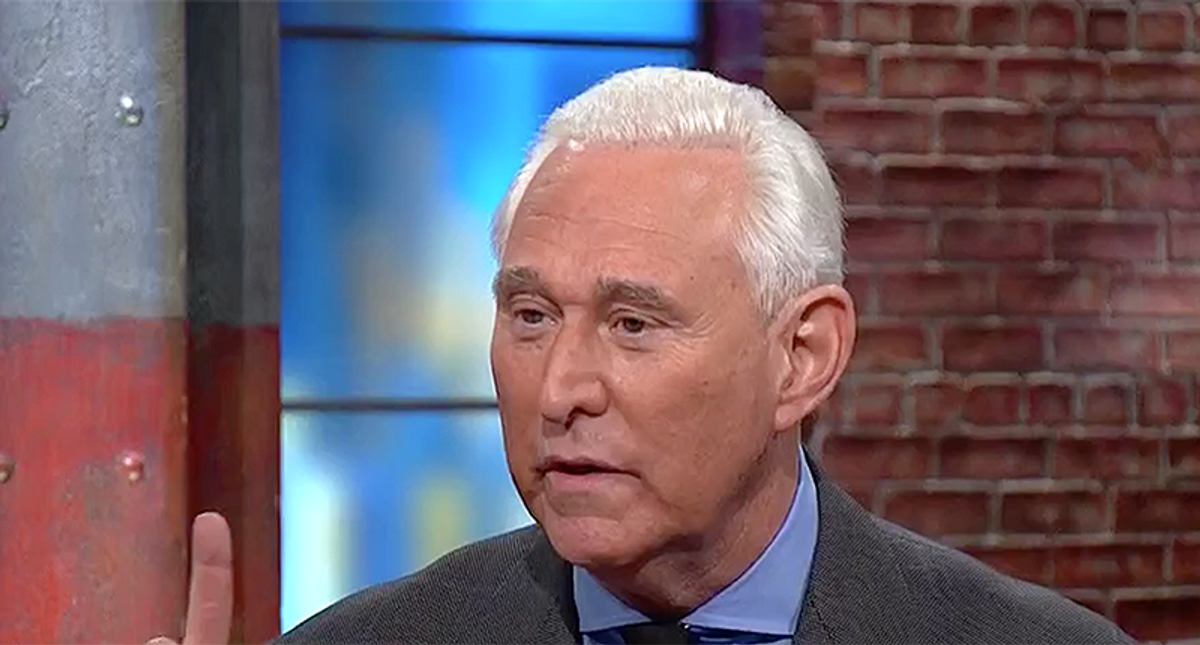 Roger Stone's latest hustle finds him groveling for mercy -- and cash