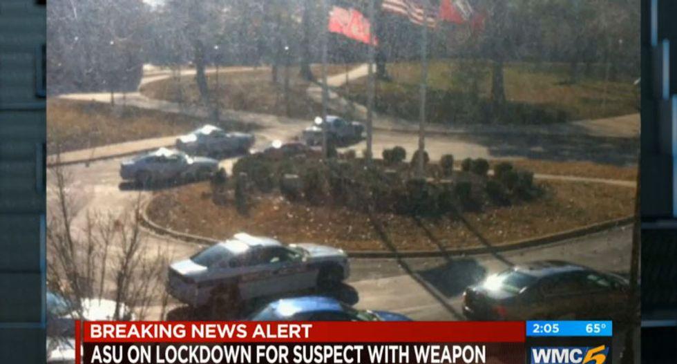 Arkansas State gunman taken into custody after terrifying campus in hour-long standoff