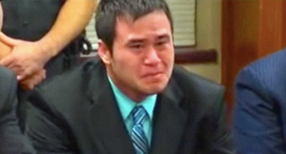 WATCH: Oklahoma ex-cop Daniel Holtzclaw weeps as he's convicted of raping 13 black women on duty