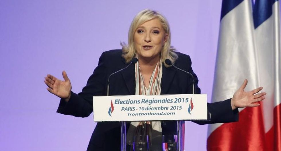 France's far-right National Front battles for historic poll win