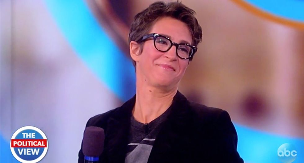Maddow trolls Trump Jr.: If your dad's 2005 taxes make him look great -- release them all