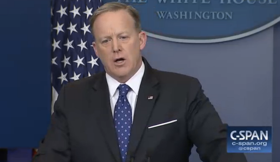 Sean Spicer: April Ryan is tough enough to 'take it' when I scold her for shaking her head