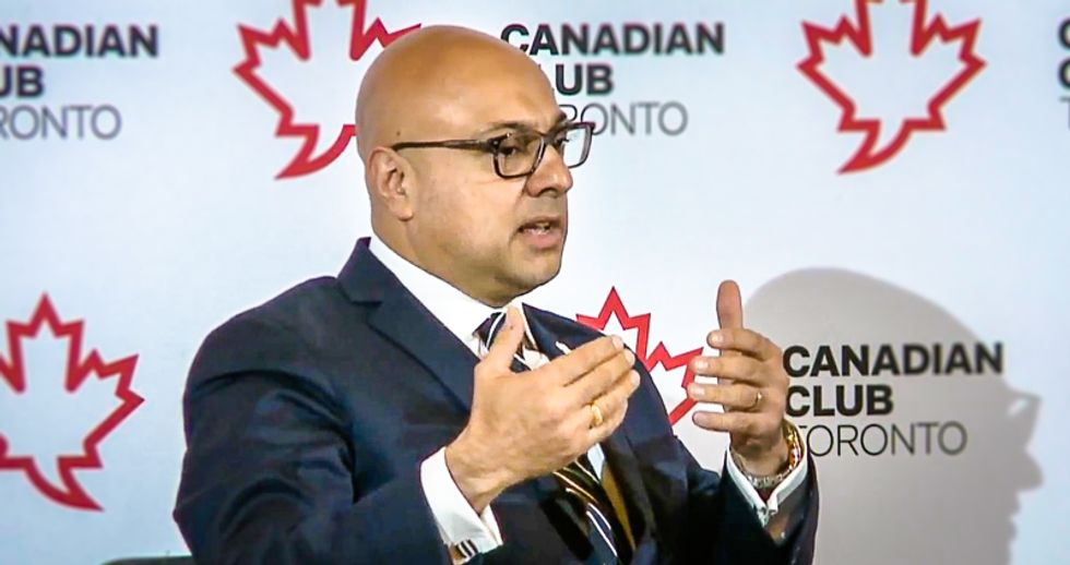 Ali Velshi explains Trump's 'culture of lying' to Canadian crowd: 'It's how Germany worked before the war'