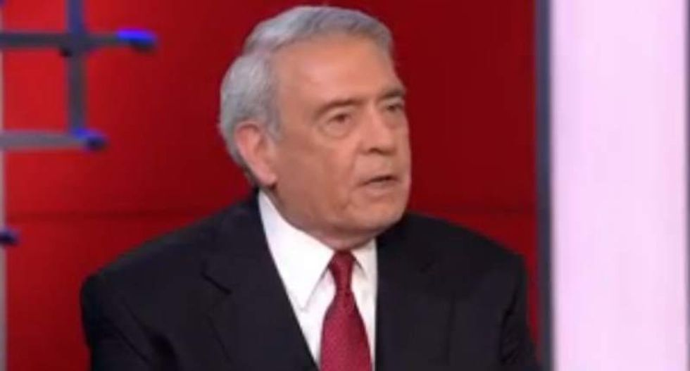 Dan Rather slams Trump and Ted Cruz for 'confusing the bully pulpit with the BS pulpit'