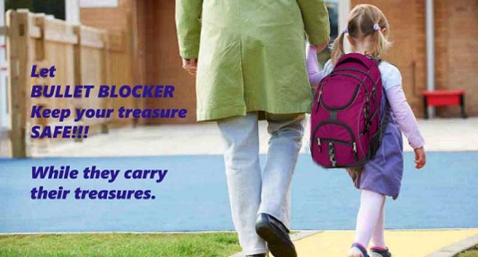 Bulletproof backpacks for kids? Here are 10 sick products you can buy in America -- thanks to the NRA