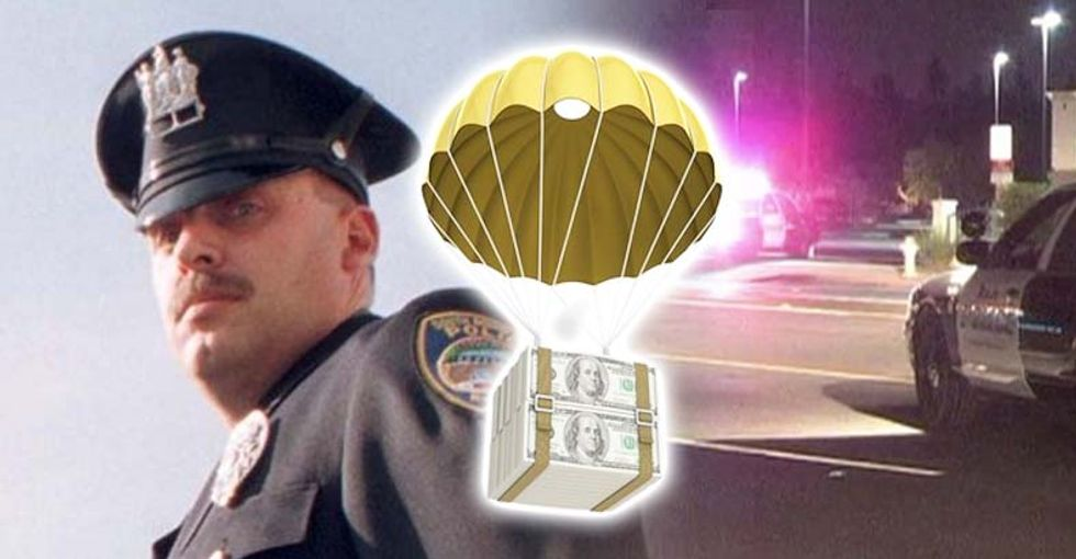 Police chief gets $260K golden parachute after covering up his own drunken hit-and-run