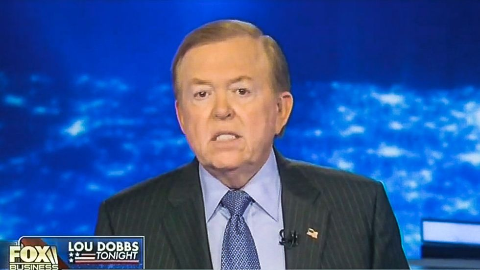 Fox's Lou Dobbs lashes out at zombie nativity: 'If you're going to mock a religion, choose Islam'