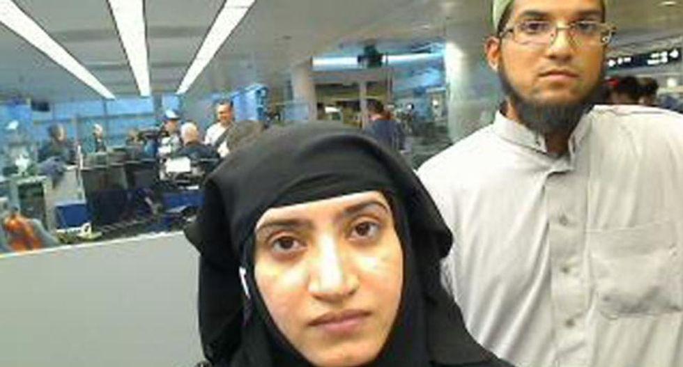 FBI chief: San Bernardino killers were radicalized before they met